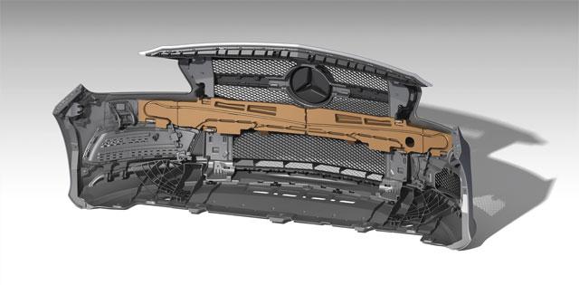 Leistungen Produktentwicklung Mercedes innen